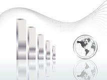 Weltkarten-Vektor stock abbildung