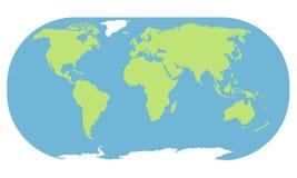 Weltkartenhintergrund stockfotografie