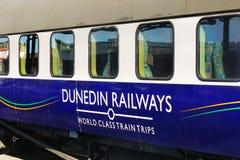Weltklassen-Zug, Neuseeland Stockbilder