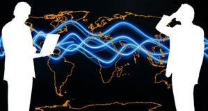 Weltkommunikation Stockfotografie