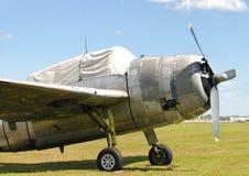 Weltkriegäraflugzeug Lizenzfreie Stockfotos