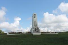 Weltkrieg-Denkmal Butte de Vauquois First in Frankreich Stockfotos