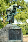 Weltkrieg-Denkmal an der Veteranen-Piazza in Memphis Lizenzfreie Stockfotografie