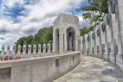 Weltkrieg-Denkmal-Washington DC Lizenzfreie Stockbilder