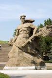 Weltkrieg-Denkmal in Wolgagrad Russland Stockfotos