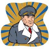 Weltkrieggeneral Lizenzfreie Stockbilder