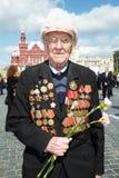 Weltkriegveteran Andrey Mikhailovich Lizenzfreies Stockfoto