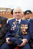 Weltkriegveteran Irakly Georgievich Lizenzfreie Stockfotografie