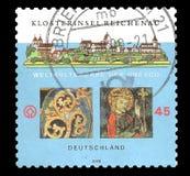 Weltkulturerbe der联合国科教文组织- Klosterinsel Reichenau 免版税图库摄影