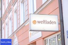 Weltladen Foto de archivo