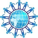 Weltleute Stockbild