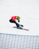 Weltmeister 2011, Ende Thomas-Bergamelli Lizenzfreies Stockbild