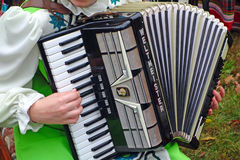 Weltmeister accordion Stock Photography