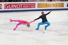 Weltmeisterschaft auf Abbildung Eislauf 2011 Lizenzfreie Stockfotos