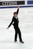 Weltmeisterschaft auf Abbildung Eislauf 2011 Lizenzfreies Stockbild