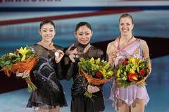 Weltmeisterschaft auf Abbildung Eislauf 2011 Stockfotografie