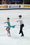 Weltmeisterschaft auf Abbildung Eislauf 2011 Lizenzfreies Stockfoto
