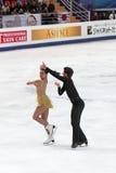 Weltmeisterschaft auf Abbildung Eislauf 2011 Stockfotos