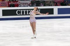 Weltmeisterschaft auf Abbildung Eislauf 2011 Stockbild
