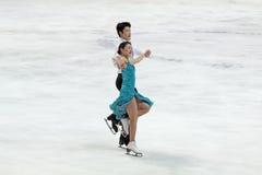 Weltmeisterschaft auf Abbildung Eislauf 2011 Lizenzfreie Stockbilder