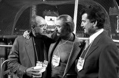 2000 Weltmeisterschaft, Herr Oktober, LeRoy Neiman und Keith Hernandez Lizenzfreie Stockfotos