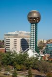 Weltmessepark Stockfoto