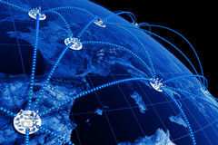 Weltnetz Lizenzfreie Stockfotografie