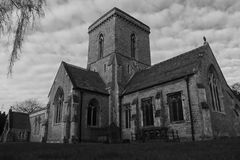 Welton church Royalty Free Stock Image