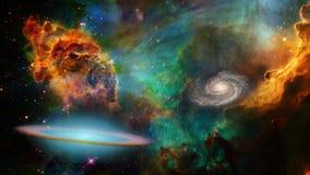 Weltraum Stockbild