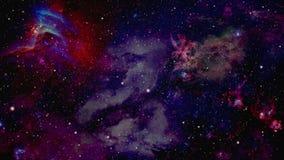 Weltraum-Flug-Animation lizenzfreie abbildung