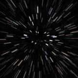 Weltraum-Stern-Feld vektor abbildung