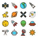 Weltraumforschung u. Astrologie Lizenzfreie Stockfotografie