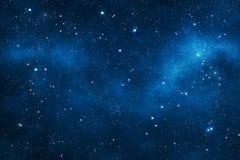 Weltraumhintergrund Stockfoto