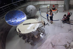 Weltraummuseum VVC Moskau, Russland Stockbilder