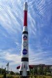 Weltraumrakete Lizenzfreie Stockfotos