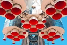 Weltraumraketemotor Stockfotos