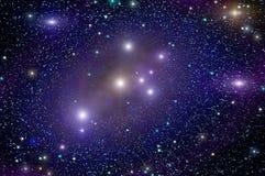 Weltraumsternnebelfleck Stockfotos
