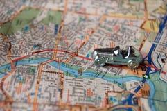 Weltreise-Autoreise Stockfoto