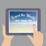 Weltreise Konzept Stockfoto