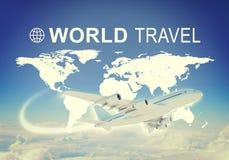 Weltreisetitel Lizenzfreie Stockbilder