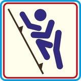 Weltsporttraining, Ikone, Illustrationen Stockfoto