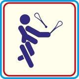 Weltsporttraining, Ikone, Illustrationen Lizenzfreie Stockbilder
