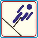 Weltsporttraining, Ikone, Illustrationen Stockbild