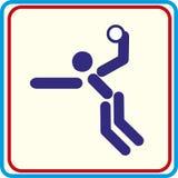 Weltsporttraining, Ikone, Vektor Illustrationen Stockbild