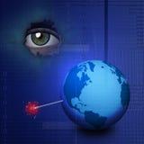 WeltTechnologie-Explosion Stockfoto