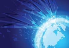 Welttechnologiekonzept Lizenzfreies Stockbild