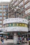 Weltuhr Alexanderplatz Berlin Lizenzfreies Stockbild