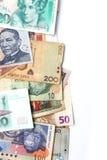 Weltwährungen Stockfoto