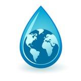 Weltwasser Stockfotos