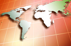Weltweit Lizenzfreies Stockbild